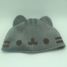 12inches Pusheen cat anime plush hat