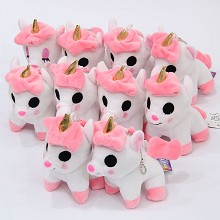 5inches Unicorn plush dolls set(10pcs a set)
