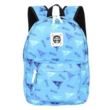 One Piece anime polyester backpack bag