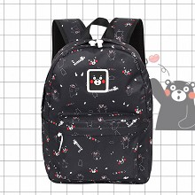 Kumamon anime polyester backpack bag