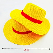 14inches One Piece Luffy anime hat