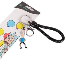 Rick and Morty key chain