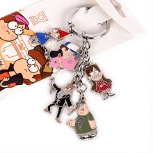 Gravity Falls key chain