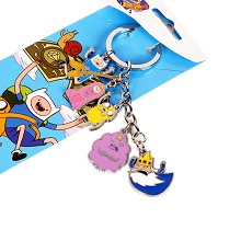 Adventure Time key chain