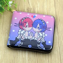 Re:Life in a different world from zero anime wallet