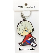 Yuri on ice anime two-side key chain