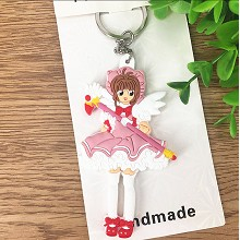 Card Captor Sakura anime two-side key chain