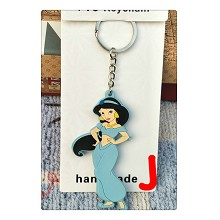 Disney Princess anime two-side key chain