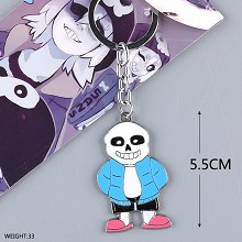 Undertale key chain