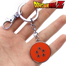 Dragon Ball anime key chain 5 star