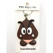 Super Mario two-sided key chain