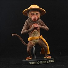 One Piece Luffy cos monkey 15th anime figure