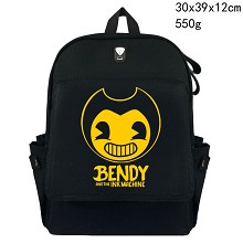 Bendy and the Ink Machine canvas backpack bag