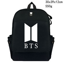 K-POP BTS canvas backpack bag