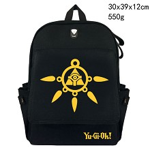 Duel Monsters canvas backpack bag