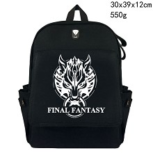 Final Fantasy canvas backpack bag