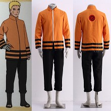 Naruto cosplay cloth dress set(2pcs a set)