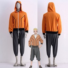 Naruto THE LAST cosplay cloth dress set(2pcs a set...