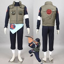 Naruto Sarutobi Asuma anime cosplay cloth dress se...