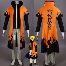 Naruto anime cosplay cloth dress set(5pcs a set)