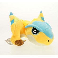 8inches Monster Hunter Tigrex plush doll