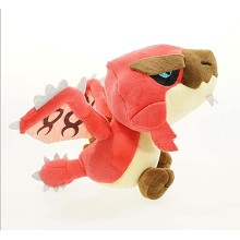 8inches Monster Hunter Rathalos plush doll