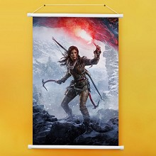 Tomb Raider wall scroll