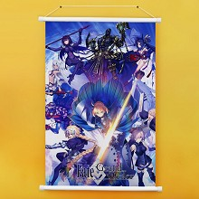 Fate Grand Order anime wall scroll