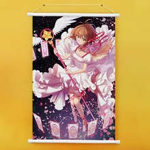 Card Captor Sakura anime wall scroll