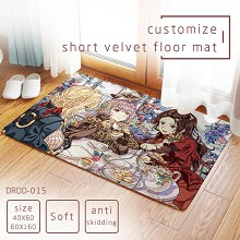 Card Captor Sakura anime short velvet floor mat ground mat(40X60)