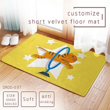 The other anime short velvet floor mat ground mat(40X60)