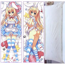 Alice in Wonderland anime two-sided long pillow