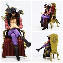 One Piece Dracule Mihawk anime figure