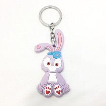 two-sided key chain