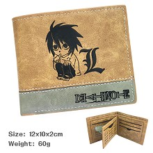 Death Note anime wallet