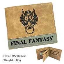 Final Fantasy wallet