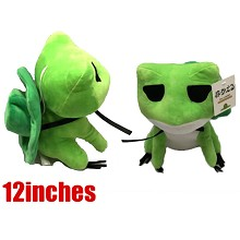 12inches Travel Frogwas plush doll
