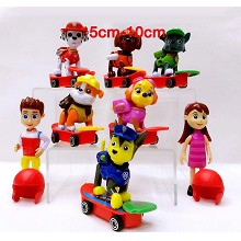 PAW Patrol figures set(8pcs a set) no box