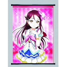 LoveLive anime wallscroll