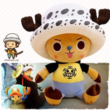 12inches One Piece Chopper cos LAW anime plush doll