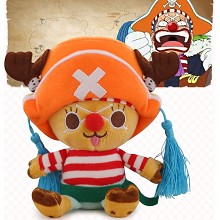 12inches One Piece Chopper cos Buggy anime plush doll