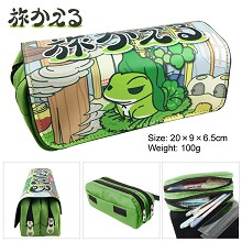 Travel Frog pen bag pencil bag
