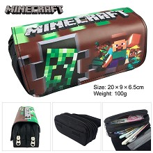 Minecraft pen bag pencil bag