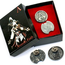 Assassin's Creed pins set(2pcs a set)