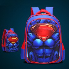 Super Man 3D backpack bag
