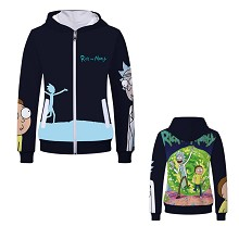 Rick and Morty hoodie cloth dress