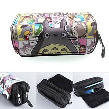 Totoro anime pen bag pencil case