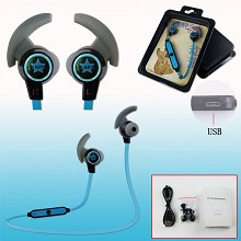 Black Rock Shooter anime wireless bluetooth earpho...