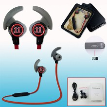 Kuroko no Basket anime wireless bluetooth earphone...