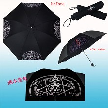 Fate anime change color umbrella